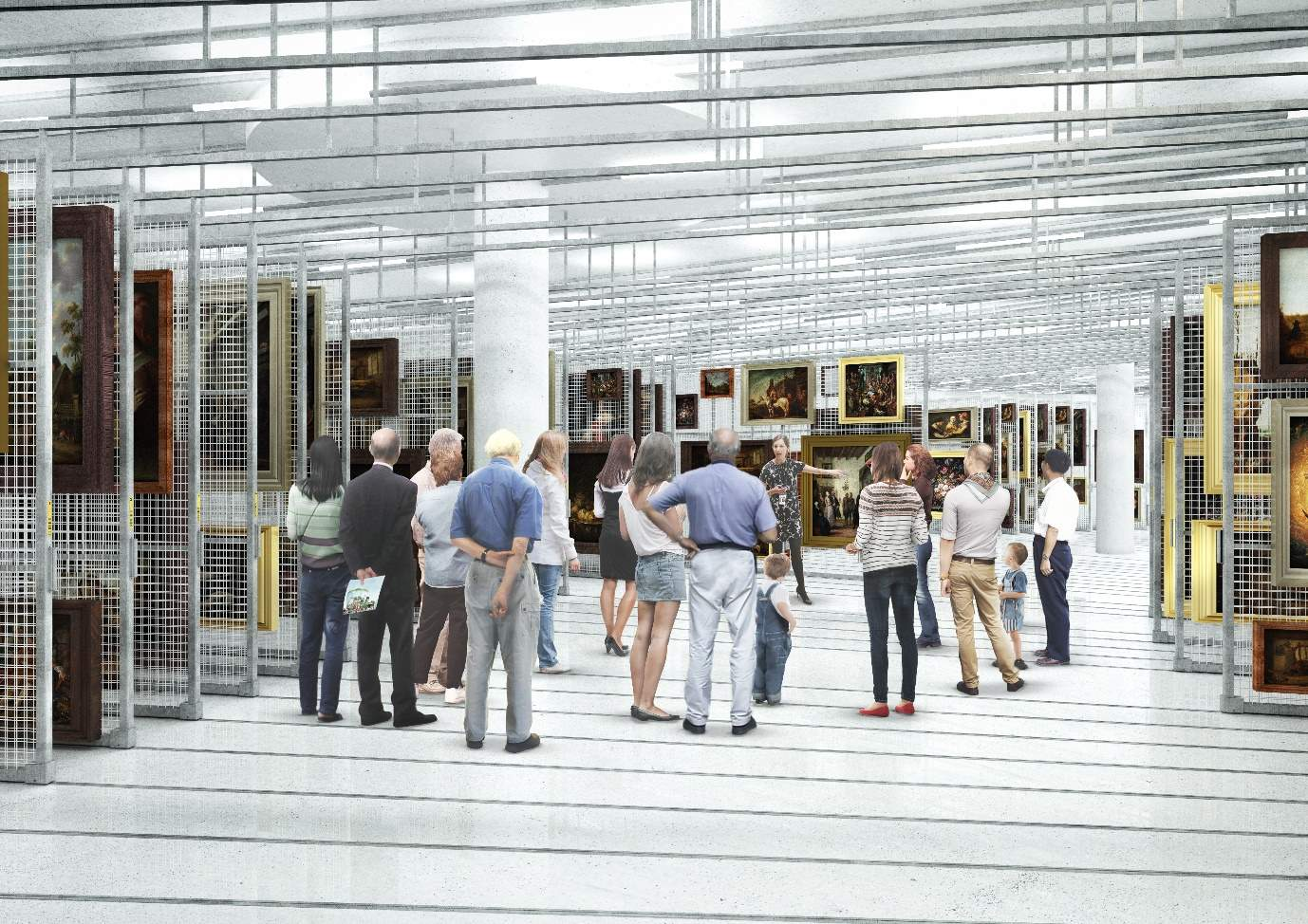 Boijmans van Beuningen art museum: smart, energy-efficient installations at new art depot to reduce consumption by up to 40%, © MVRDV architects