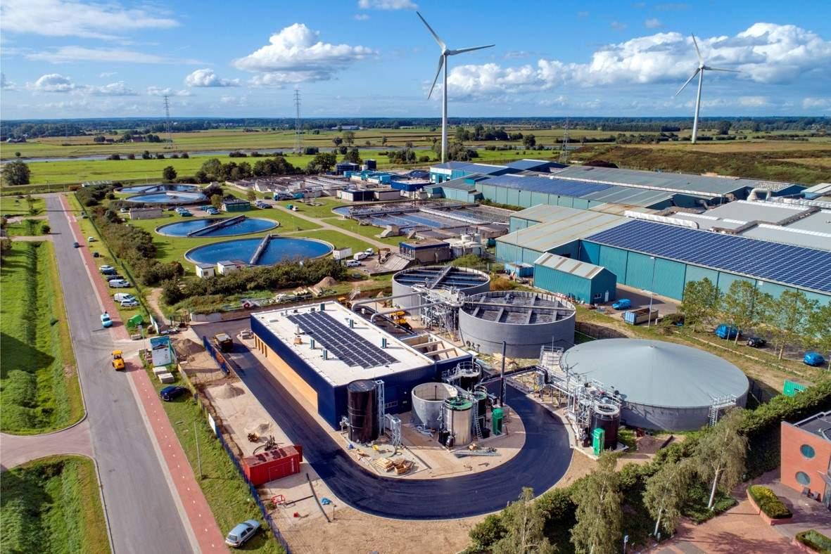 The production of Kaumera Nereda® gum at a Nereda® wastewater treatement plant