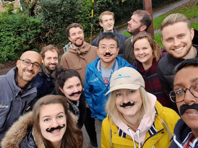 """Personnel fundraising initiative """"Movember"""" in the United Kingdom"""