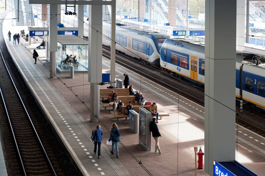Trainstation Breda, the Netherlands