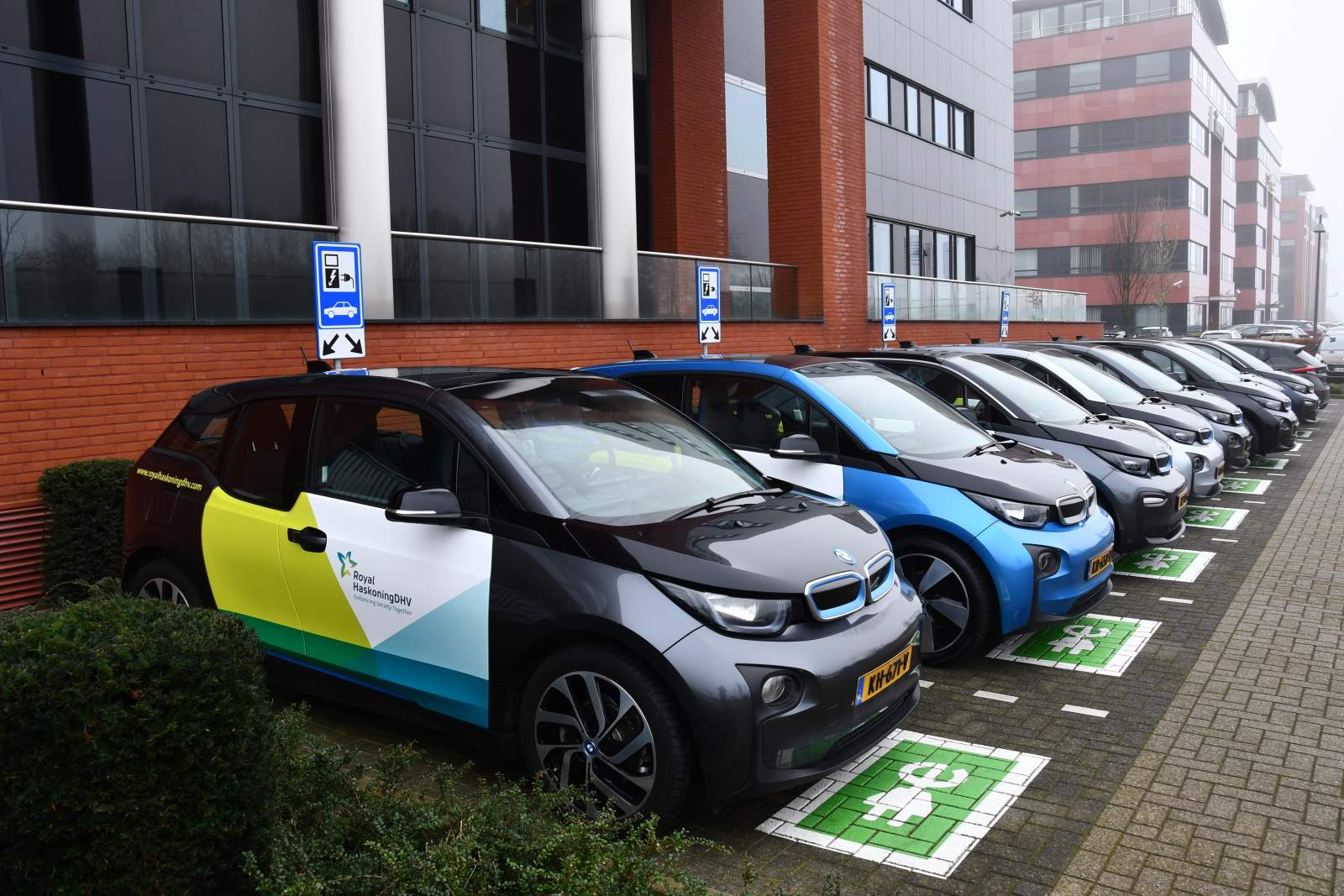 100% Electric lease fleet, Maastricht office, The Netherlands