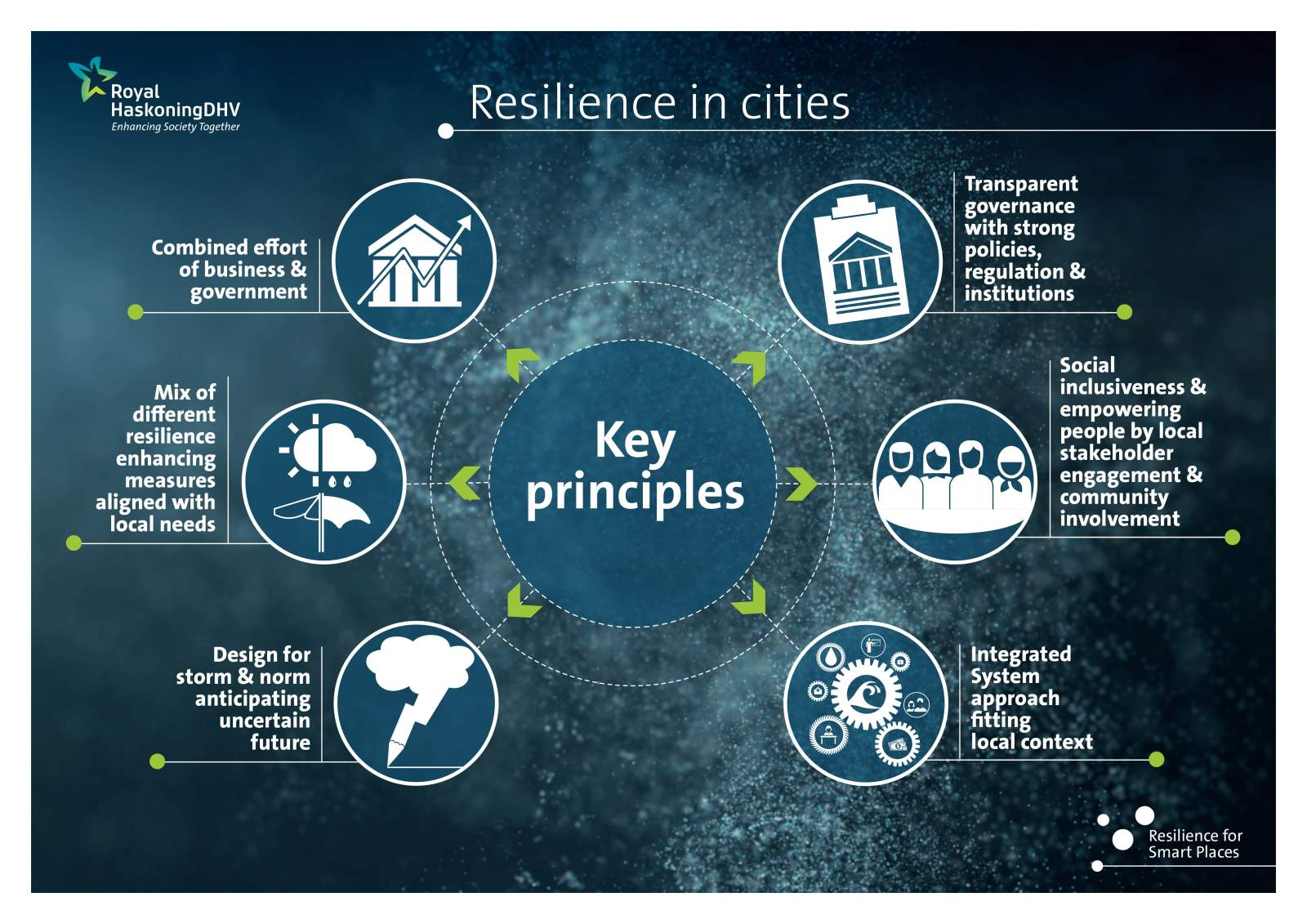 Resilience in cities, Key principles