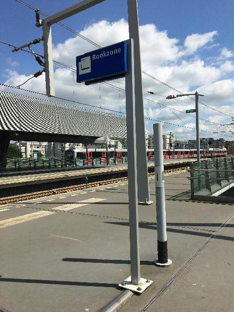Smokefree stations in the Netherlands
